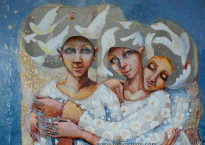 Les sœurs prière