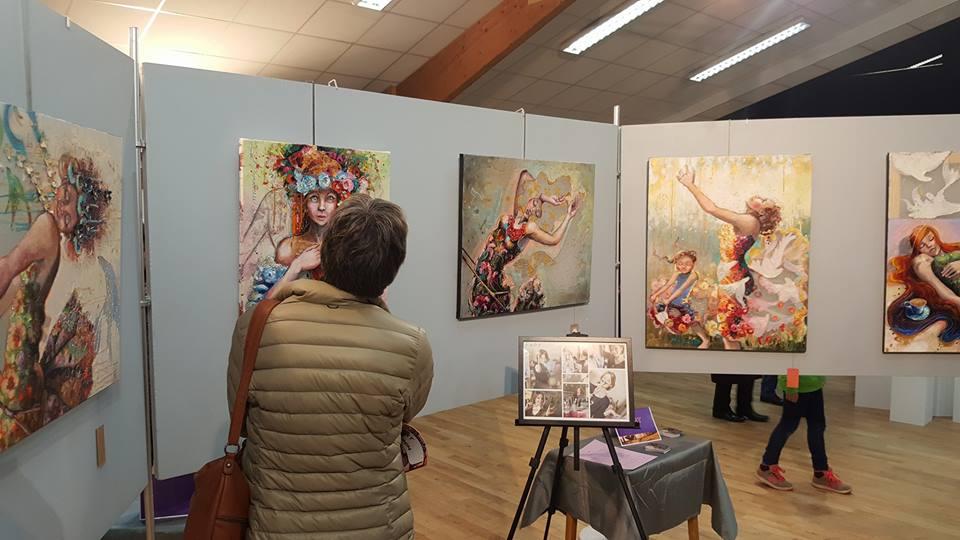 Exposition personnelle à St Jean de la Ruelle (près d'Orléans)