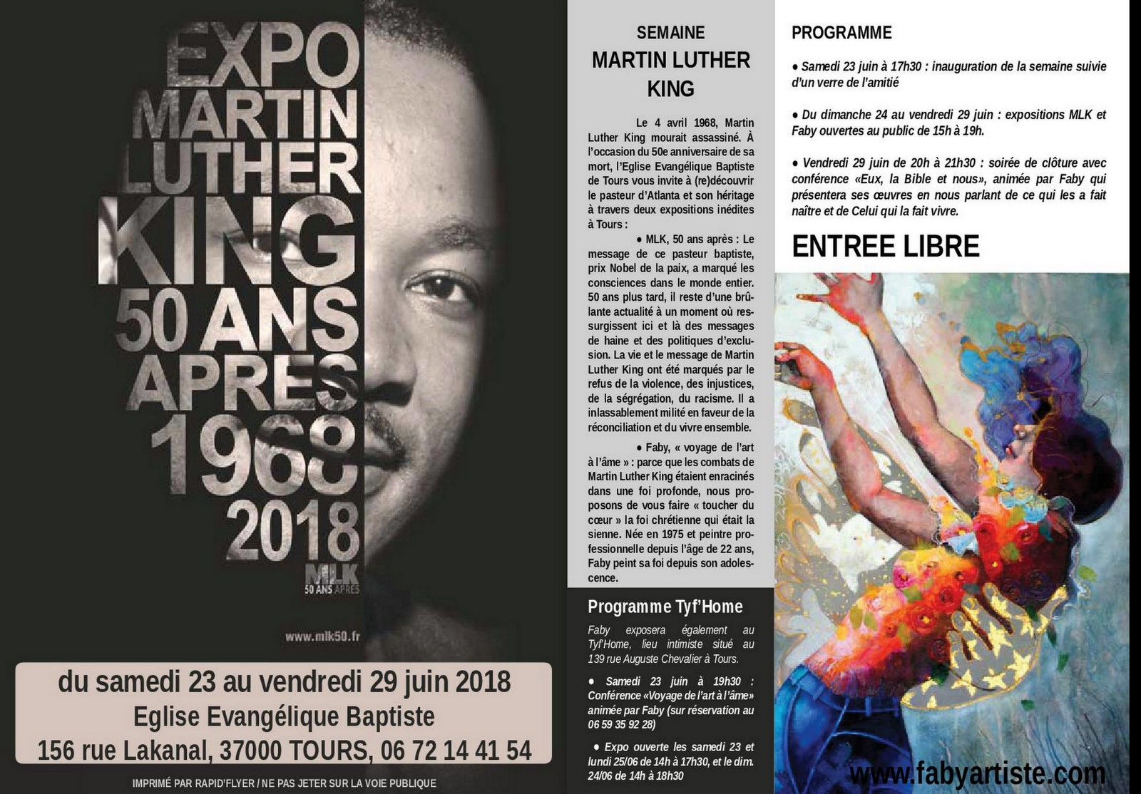 Expo/Conférences à Tours