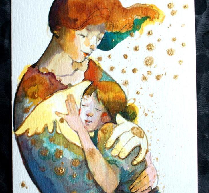 Votre toile préférée en aquarelle jusqu'au 25 décembre seulement !
