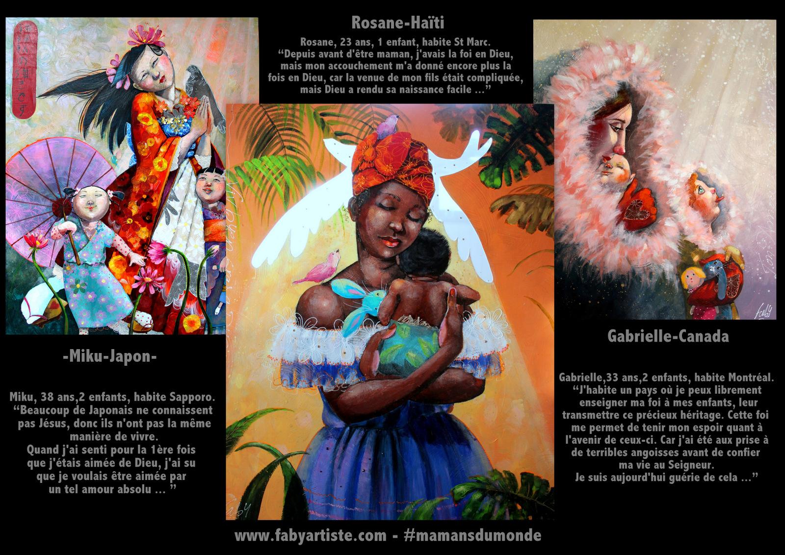 Exposition: «Mamans du monde»