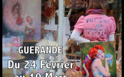 Du 24 Fev. au 10 Mars : Guérande