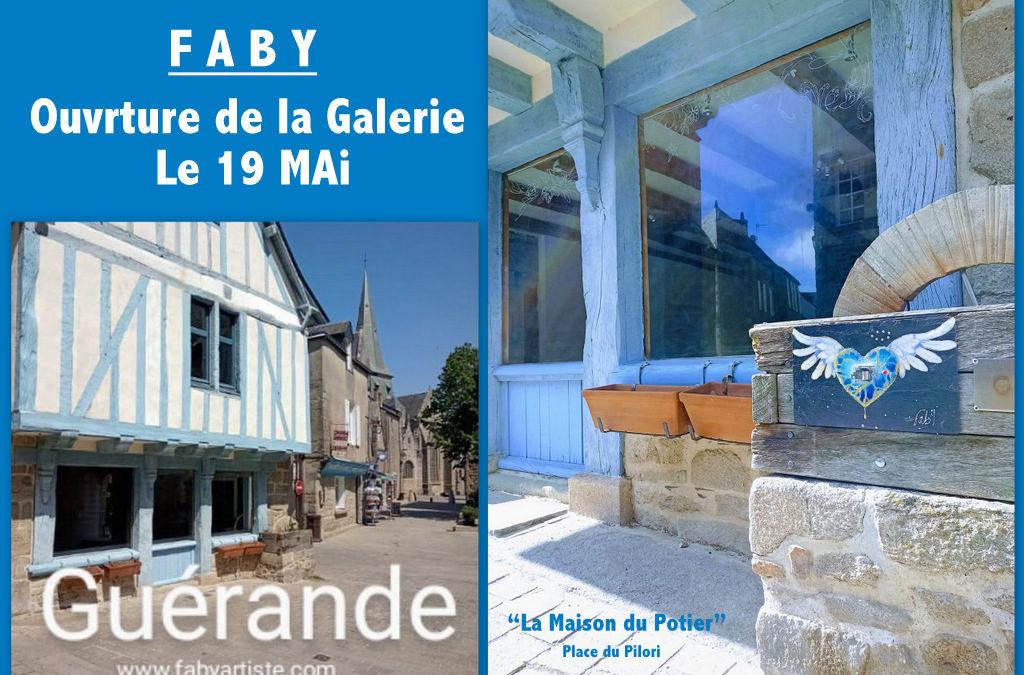 A PARTIR DU 19 MAI ! Guérande